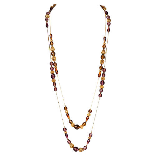 DVF Flapper Necklaces, Pair