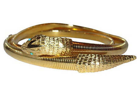 Accessocraft NYC Snake Necklace