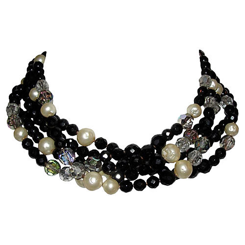 Robert De Mario Multi Glass Necklace