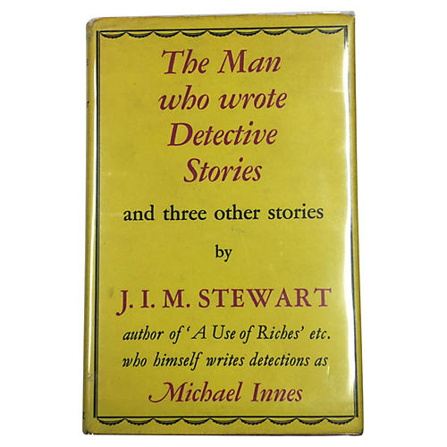 The Man Who Wrote Detective Stories