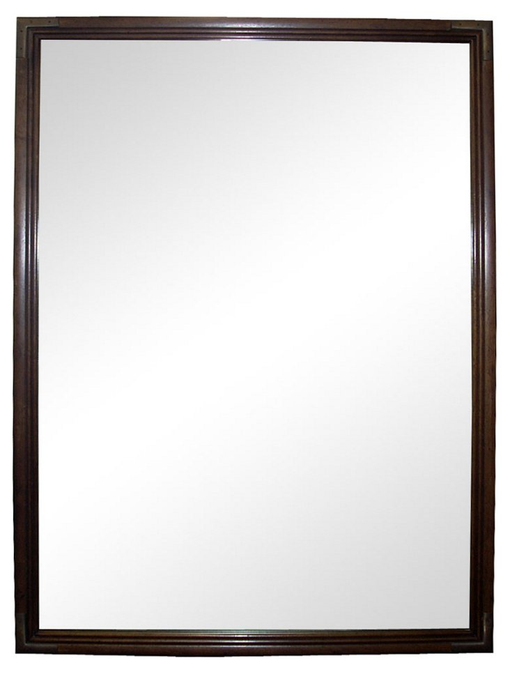 Henredon Campaign-Style Mirror