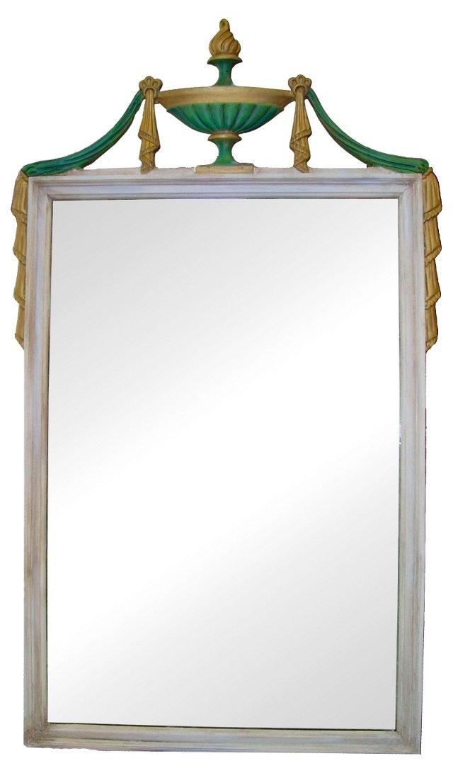 Italian-Style Painted Mirror
