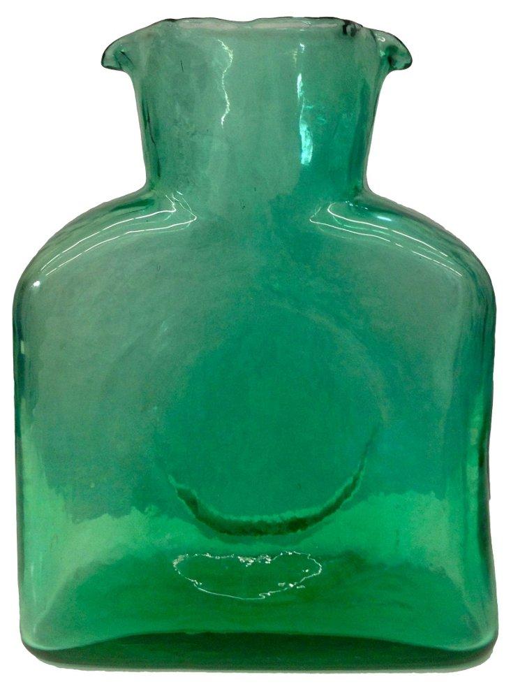 Green Blenko Pitcher