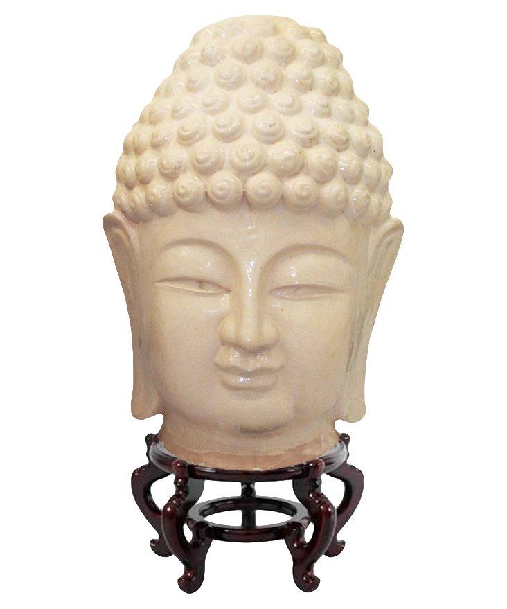 Buddha Head Figure