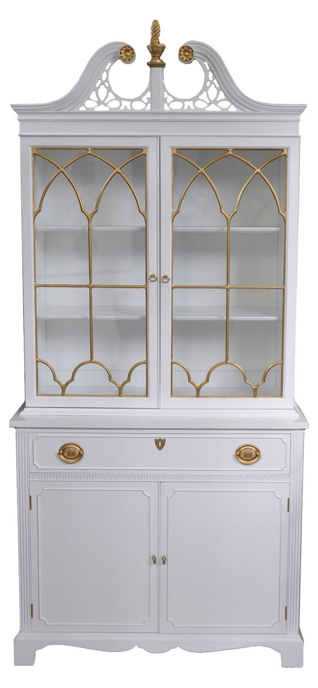 Federal-Style China Cabinet
