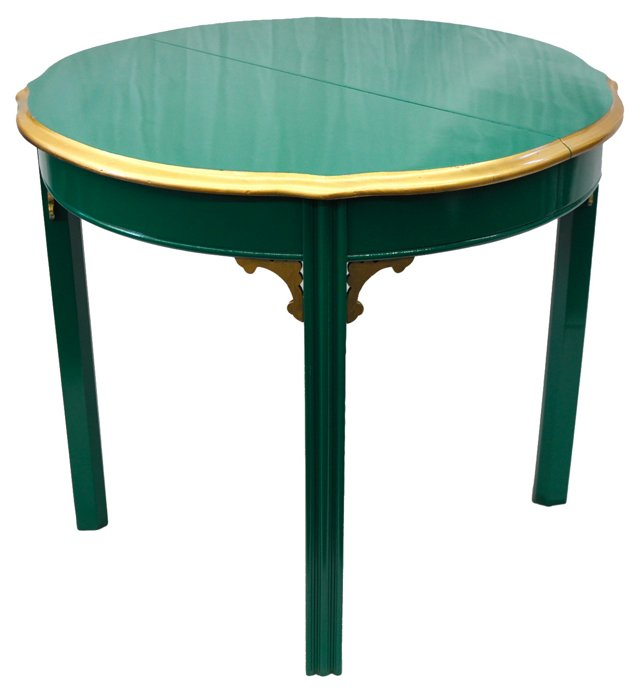 Chinese Chippendale End Table