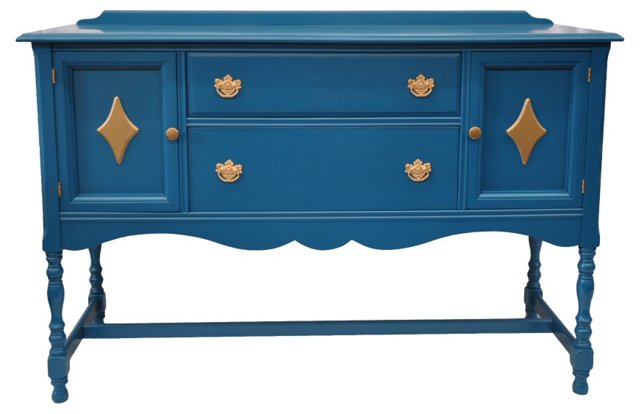 French Blue Sideboard