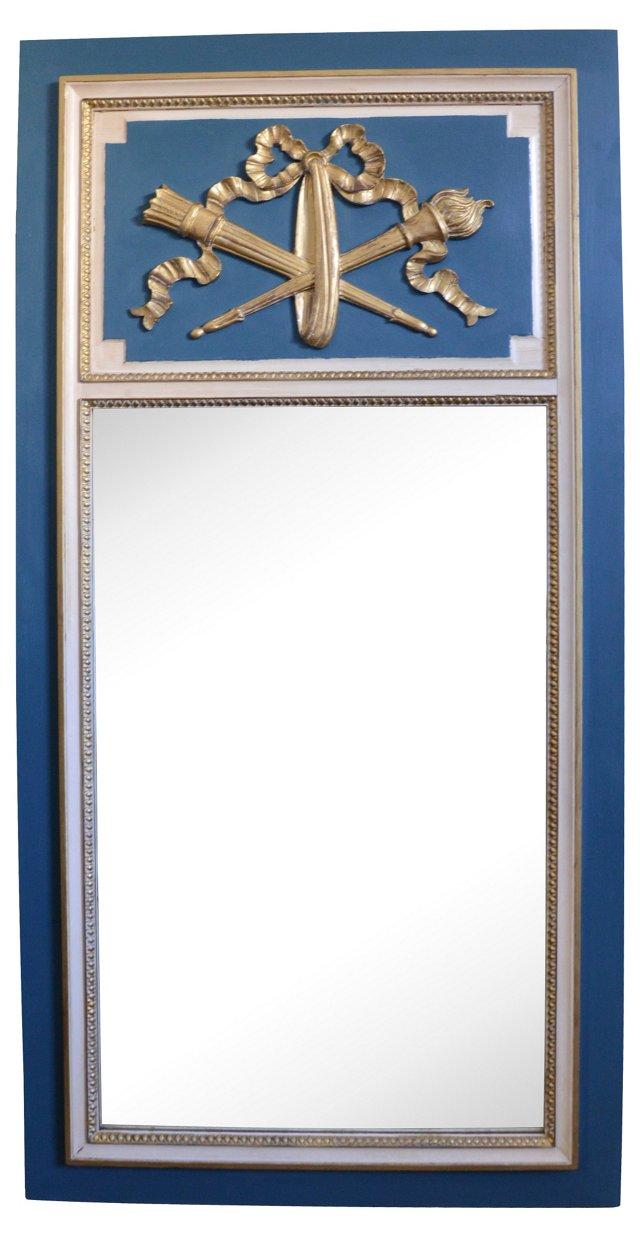 French-Style Trumeau Mirror