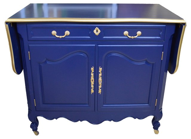 French-Style Lacquered Buffet