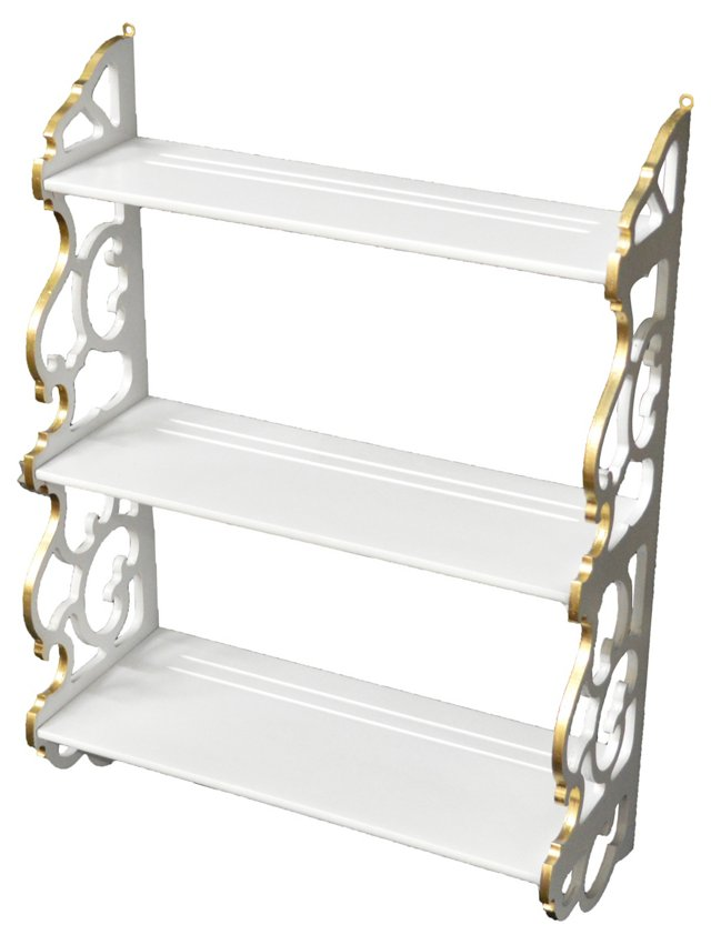3-Tier Scroll Shelf