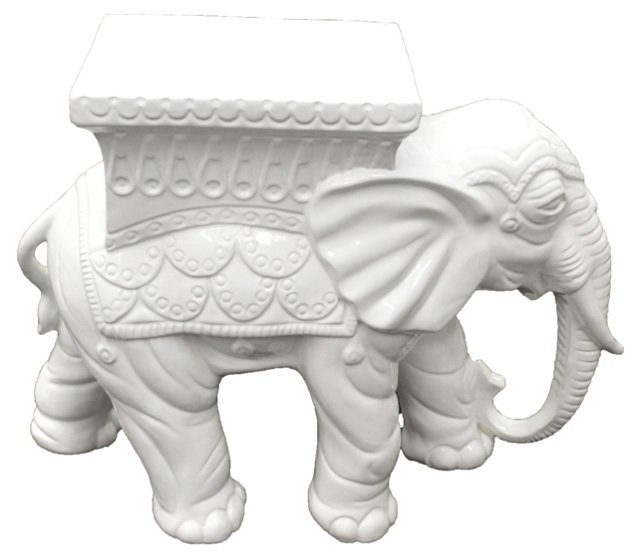 Italian Elephant Garden Stool