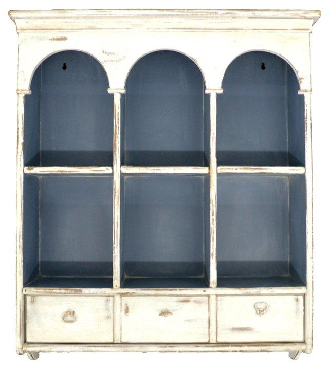White Wall Shelf