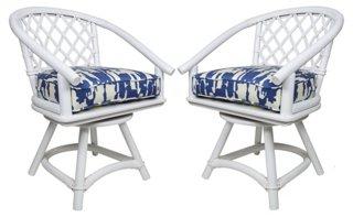 Superieur Ficks Reed Schumacher Swivel Chairs   Dining Chair Sets   Dining Chairs    Dining Room   Furniture | One Kings Lane