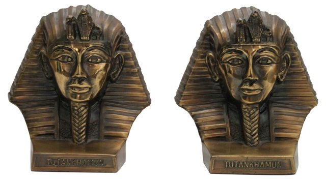King Tut Bookends