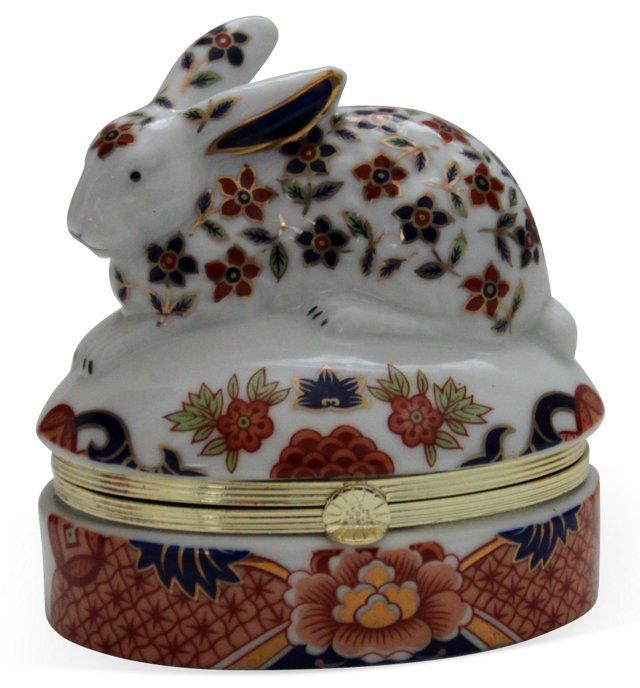 Imari-Style Hare Box