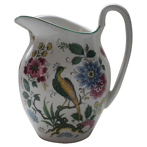 Staffordshire Old Foley Pitcher