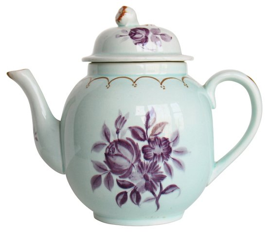 Adams Calyx Ware Teapot The Silver Oyster Brands One Kings Lane