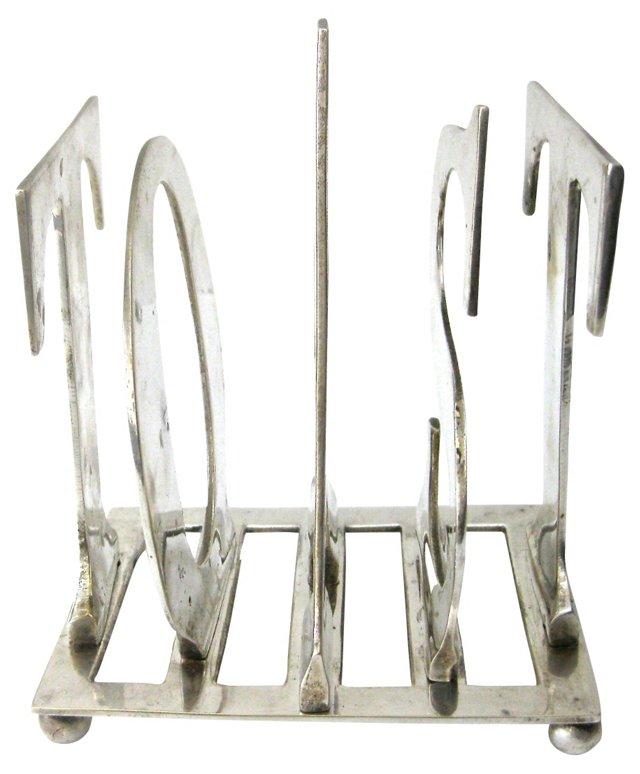 Silverplate    Toast Rack