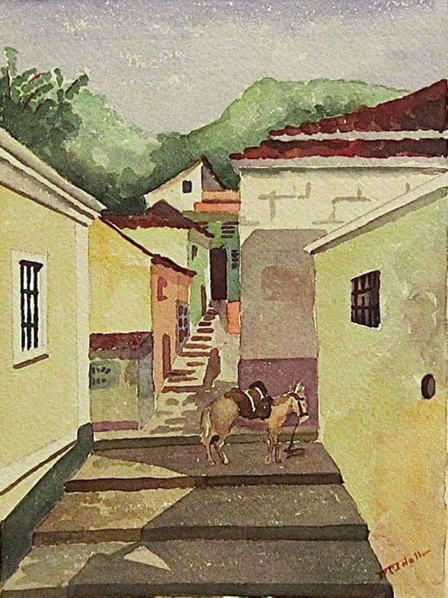 South American Watercolor