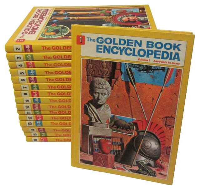 Golden Book Encyclopedias, Set of 16