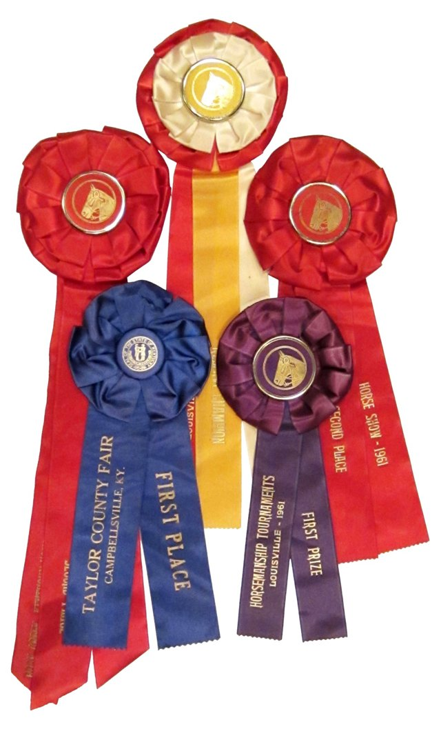 Horse Show Ribbons, 1961, S/5