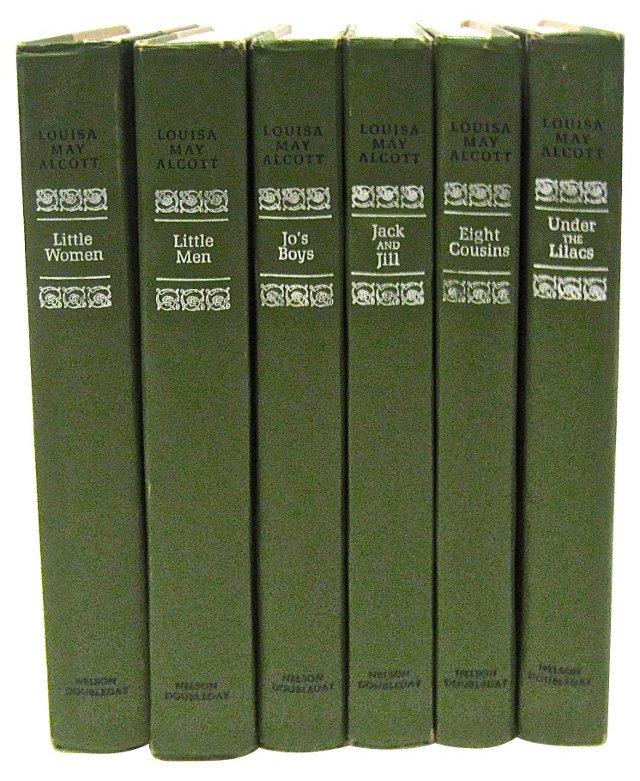 Alcott Books, S/6