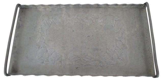 Hammered Serving Tray
