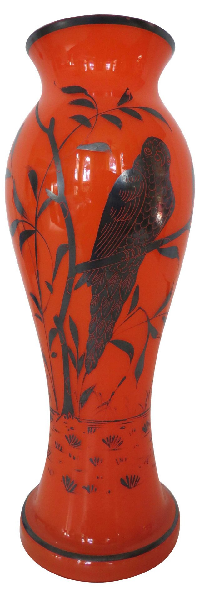 Sterling & Mango Glass Vase