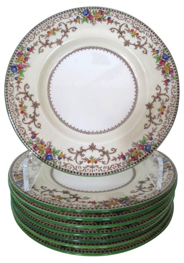Minton Porcelain Plates, S/8
