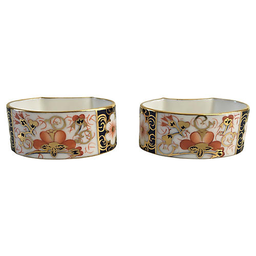 Royal Crown Derby Napkin Rings, S/2