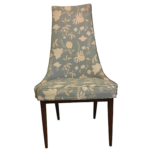 Adrian Pearsall-Style High-Back Chair