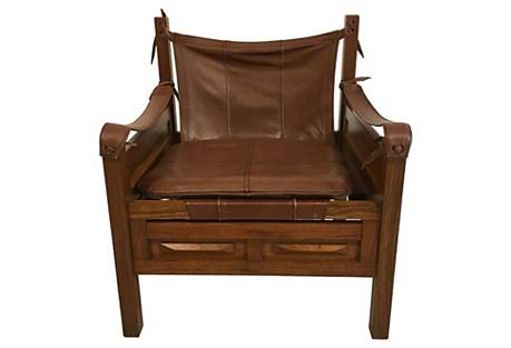 Arne Norell-Style Safari Chair