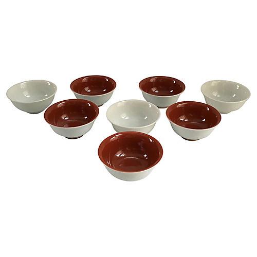 Jack Lenor Larsen Japanese Bowls, S/8