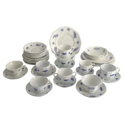 English China Set, 39 Pcs
