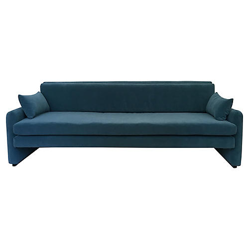 1970s Brazillian Low Sofa