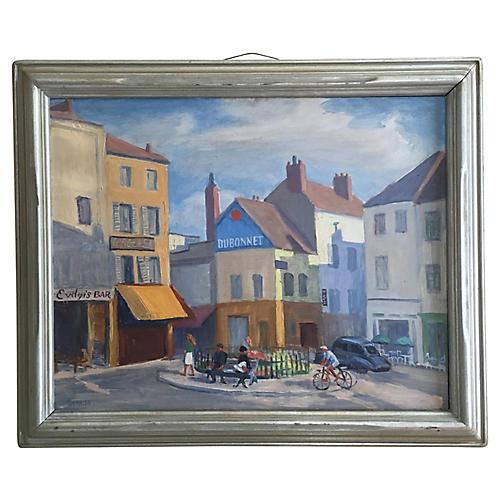 1960s French Street Scene
