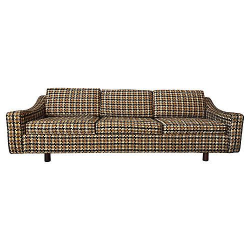 Probber Sofa w/ Jack L. Larsen Fabric