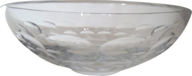 Signed Orrefors Centerpiece Bowl