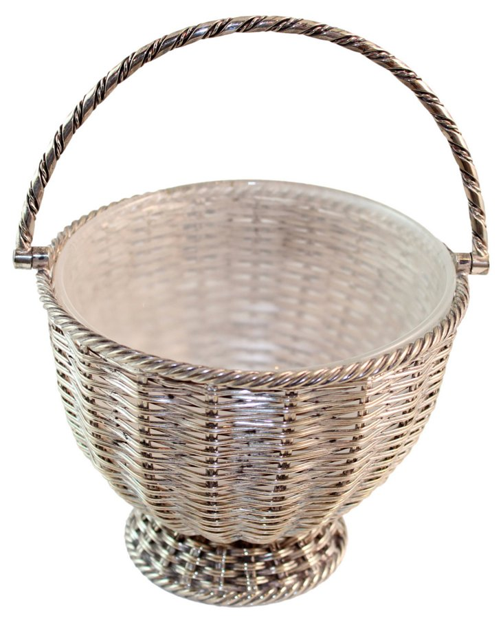 Basket-Weave Candy Dish