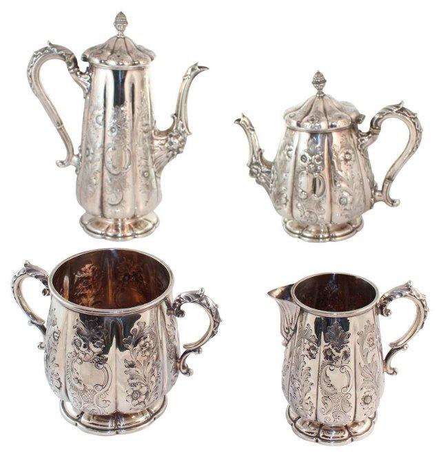 Elkington Tea & Coffee Set, 4 Pcs