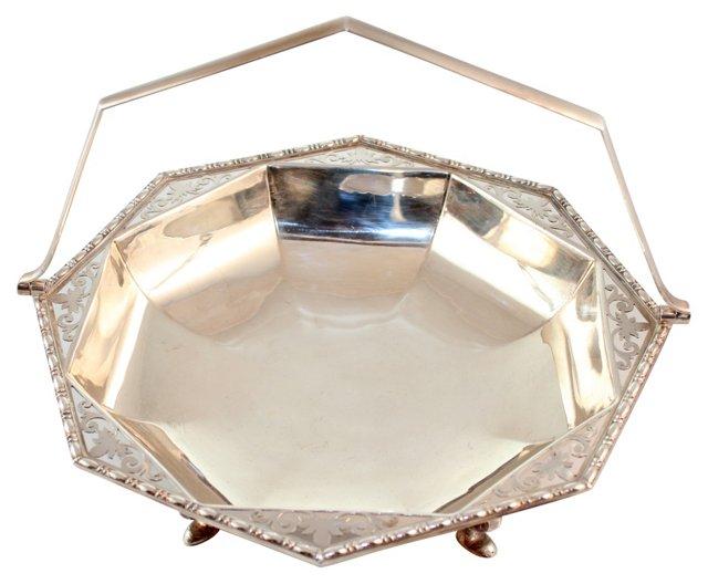 Octagonal Pierced Basket