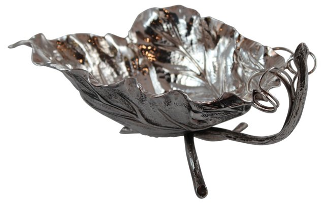 Sterling Leaf Bowl