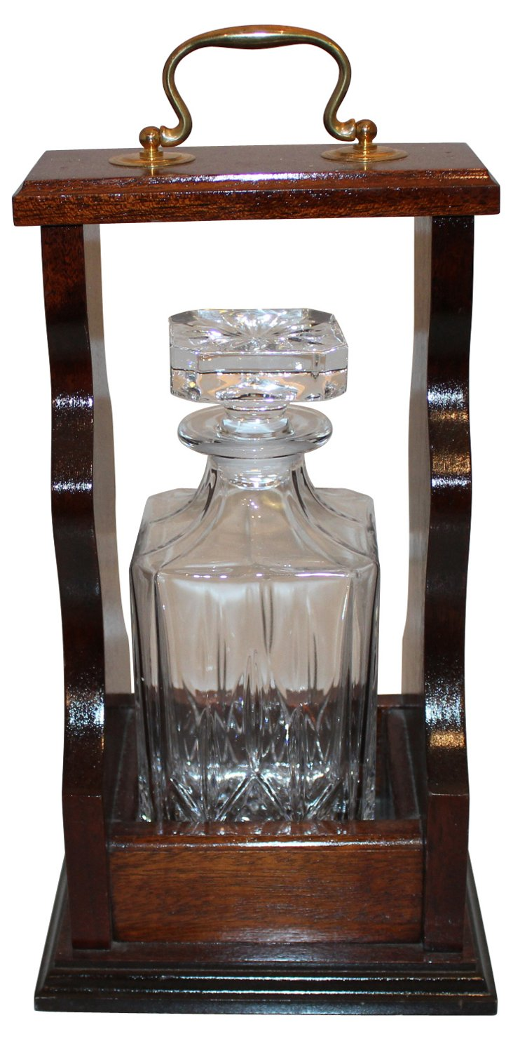 Tantalus w/ Glass Decanter