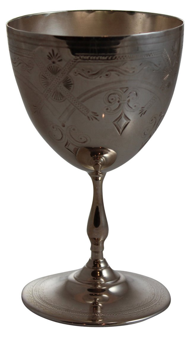 Petite Engraved Goblet