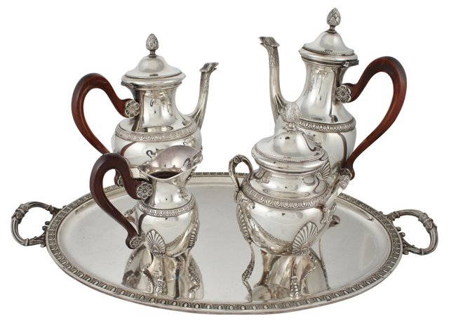 French Tea & Coffee Service, 5 Pcs