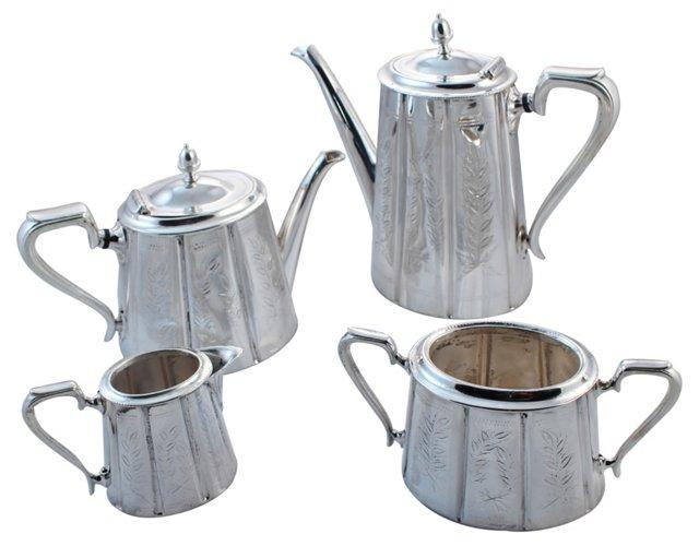 Cann Tea & Coffee Service, 4 Pcs