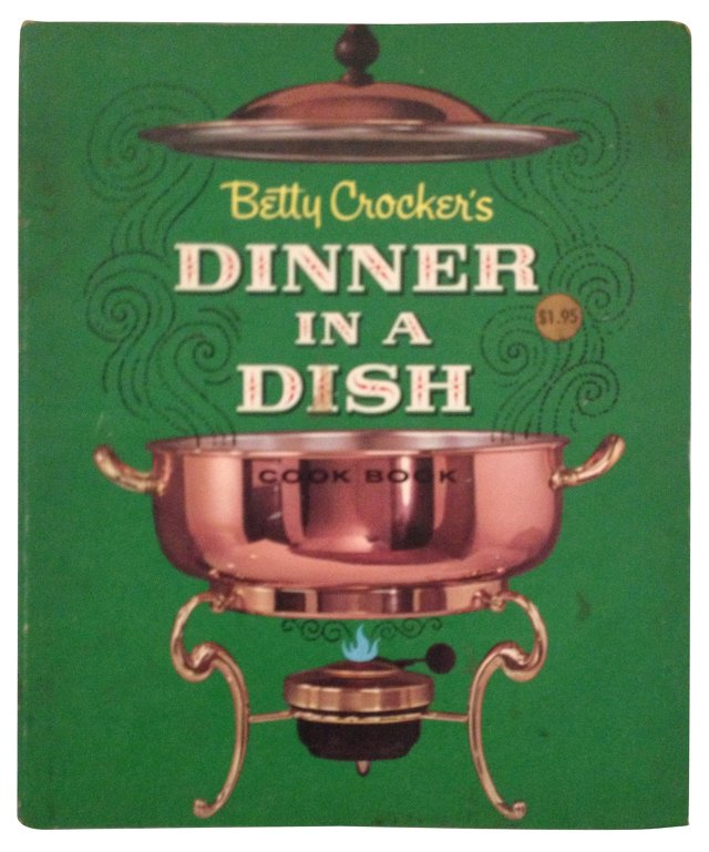 Dinner in a Dish Vintage Cookbook