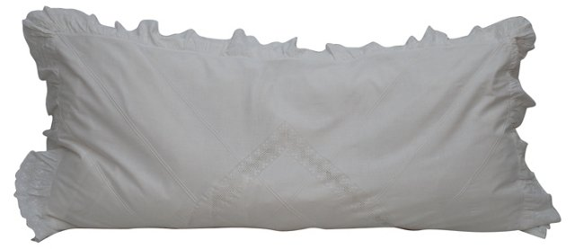 French  Lace Body  Pillow