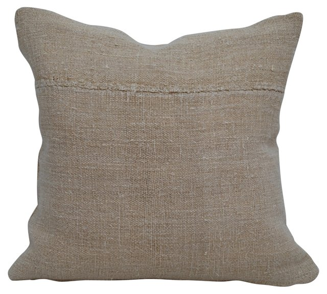 "17""    Grain Sack Pillow"