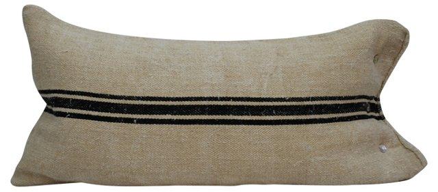 Black & Beige   Body Pillow